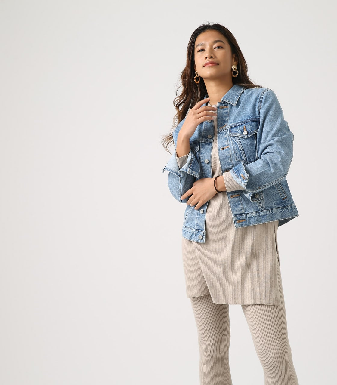 【AZUL BY MOUSSY】DENIM JACKET 詳細画像 L/BLU 3
