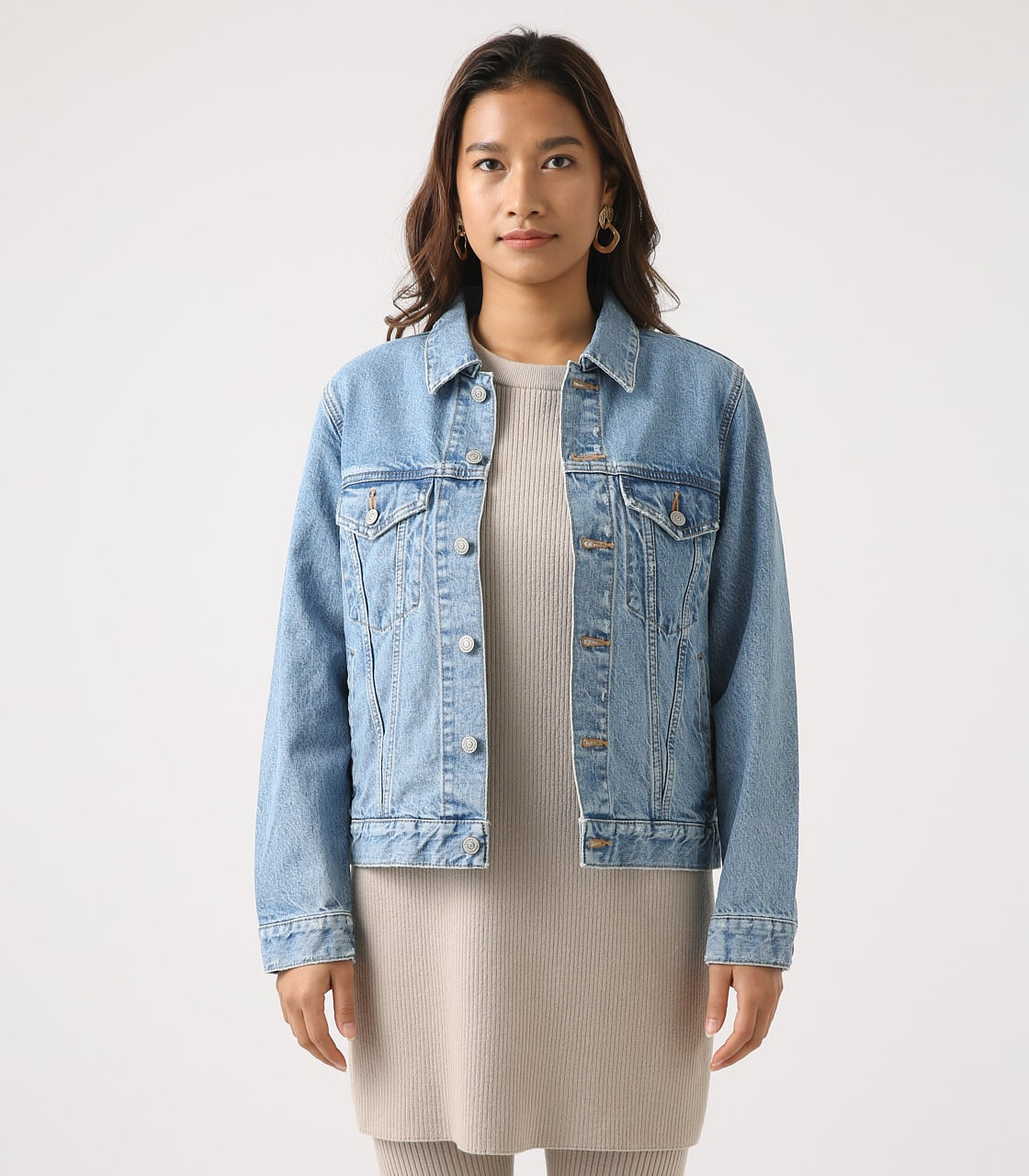 【AZUL BY MOUSSY】DENIM JACKET 詳細画像 L/BLU 5