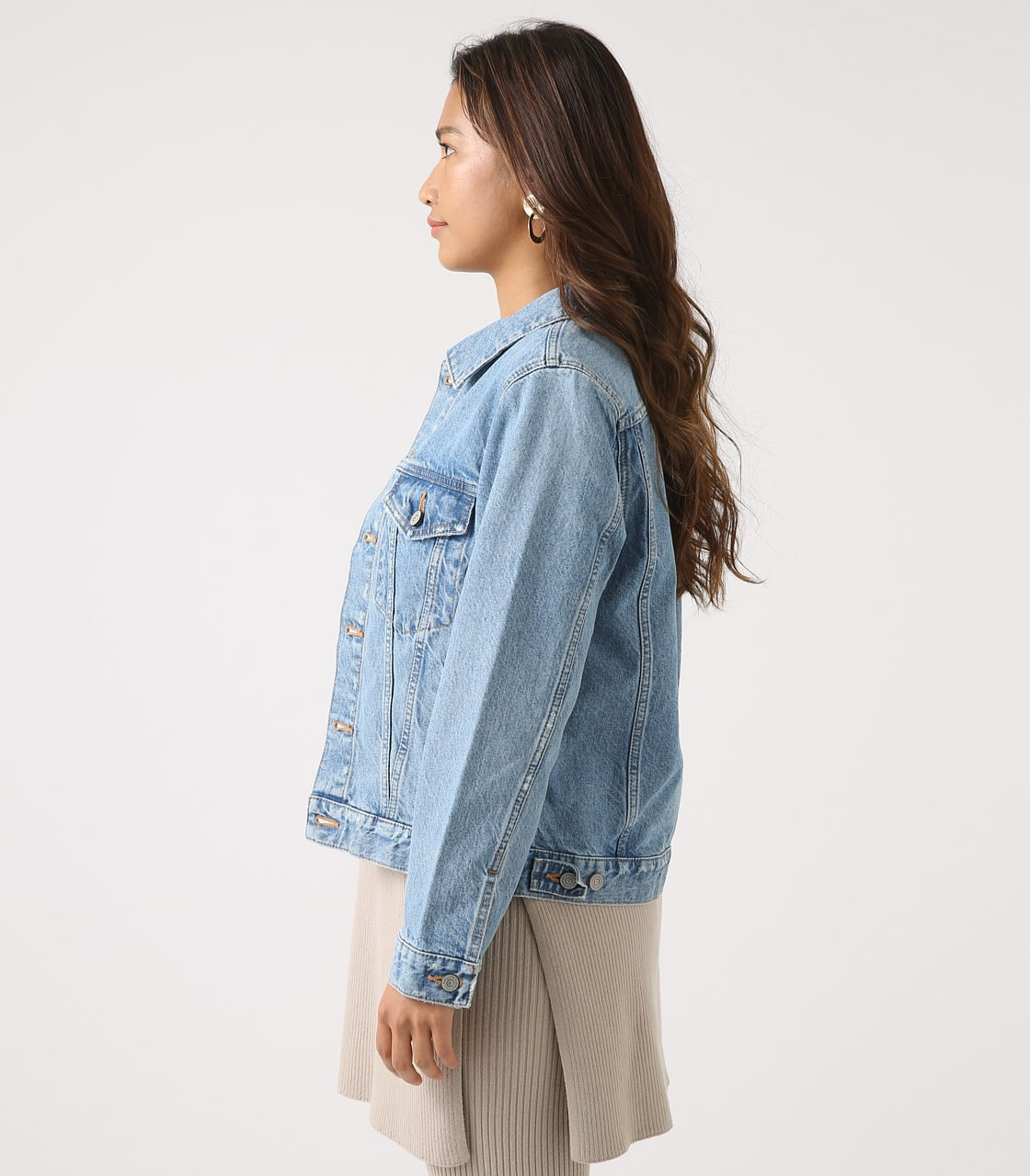【AZUL BY MOUSSY】DENIM JACKET 詳細画像 L/BLU 6
