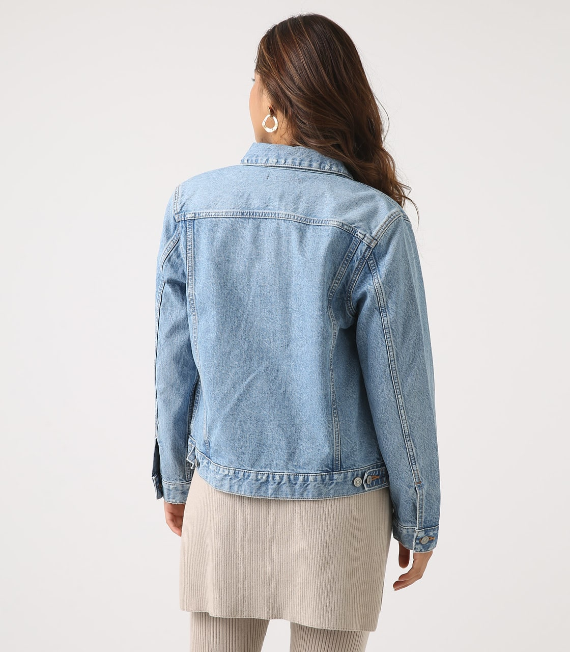 【AZUL BY MOUSSY】DENIM JACKET 詳細画像 L/BLU 7