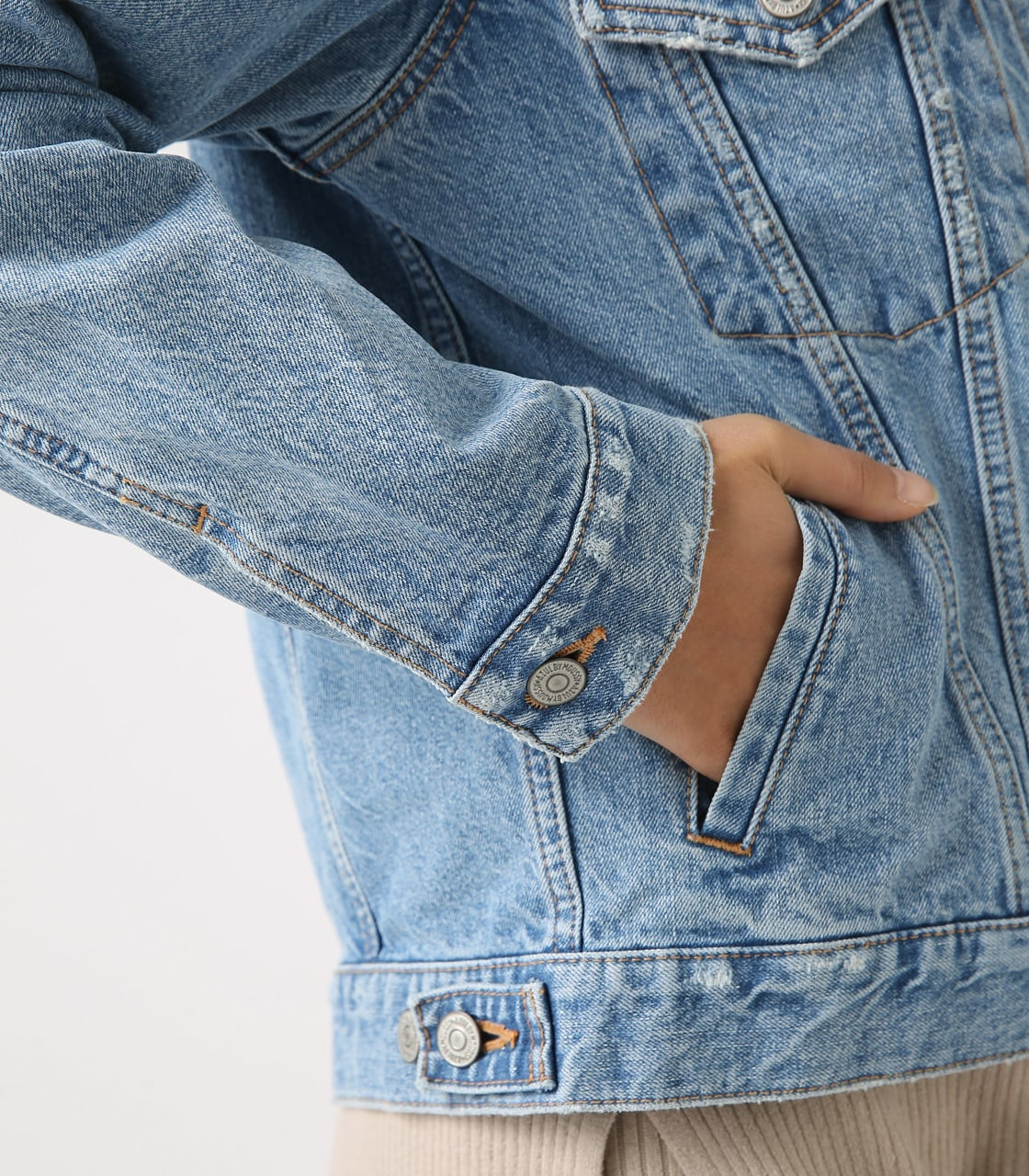 【AZUL BY MOUSSY】DENIM JACKET 詳細画像 L/BLU 9