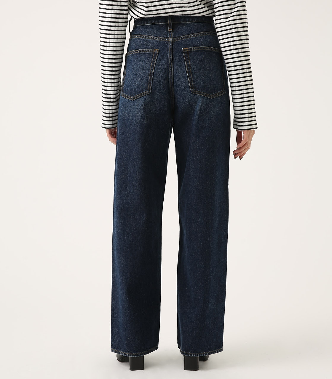HIGH WAIST DENIM WIDE 詳細画像 D/BLU 7