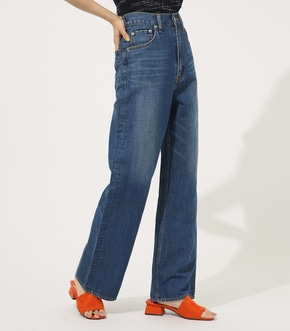 【AZUL BY MOUSSY】LINEN MIX DENIM WIDE【MOOK50掲載 90105】
