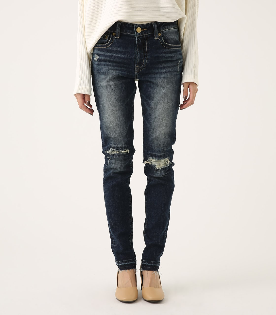 REPAIR DENIM SKINNY 詳細画像 D/BLU 5