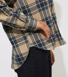 CHECK DROP SHOULDER SHIRT 詳細画像