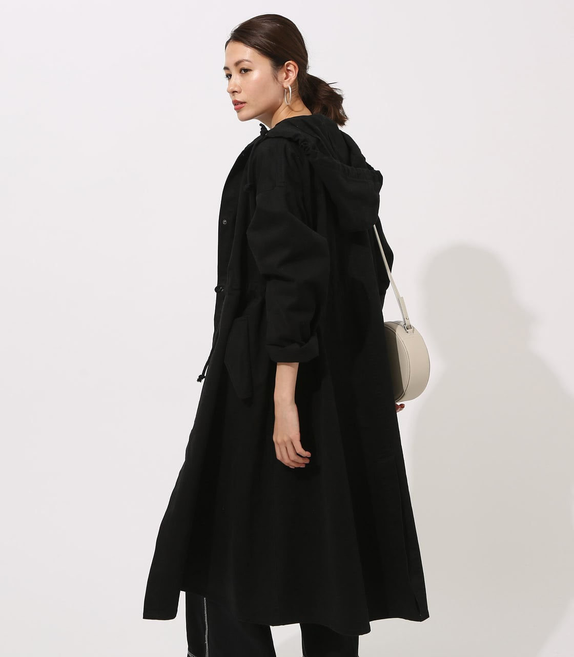 【AZUL BY MOUSSY】LOOSE MODS COAT 【MOOK49掲載 90044】 詳細画像 BLK 3