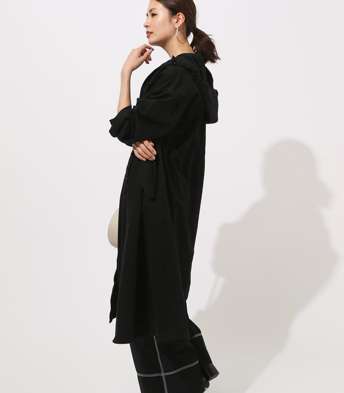 【AZUL BY MOUSSY】LOOSE MODS COAT 【MOOK49掲載 90044】 詳細画像 BLK 4