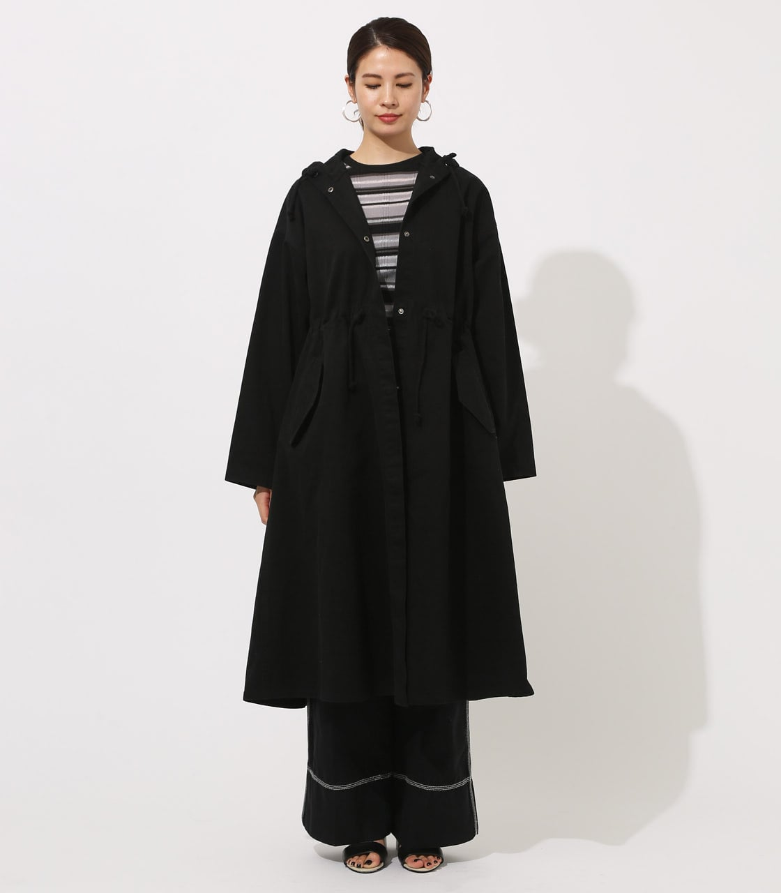 【AZUL BY MOUSSY】LOOSE MODS COAT 【MOOK49掲載 90044】 詳細画像 BLK 5
