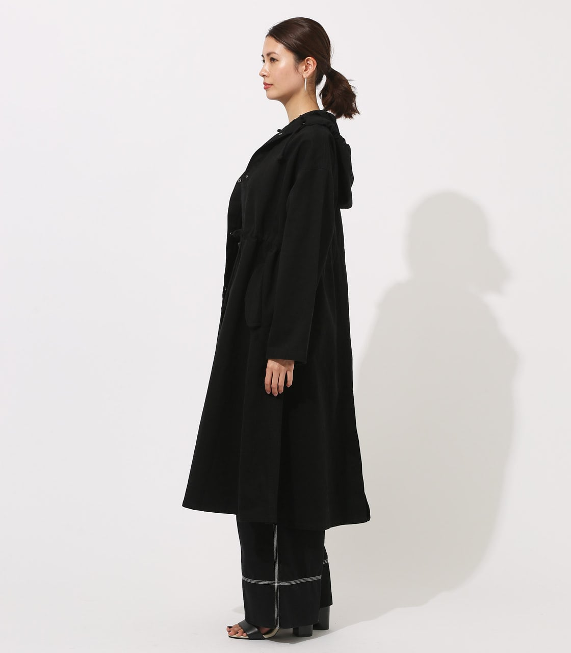 【AZUL BY MOUSSY】LOOSE MODS COAT 【MOOK49掲載 90044】 詳細画像 BLK 6