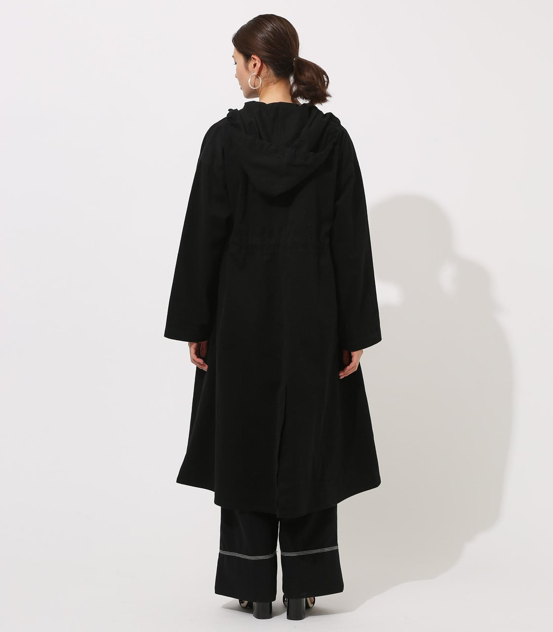 【AZUL BY MOUSSY】LOOSE MODS COAT 【MOOK49掲載 90044】 詳細画像 BLK 7