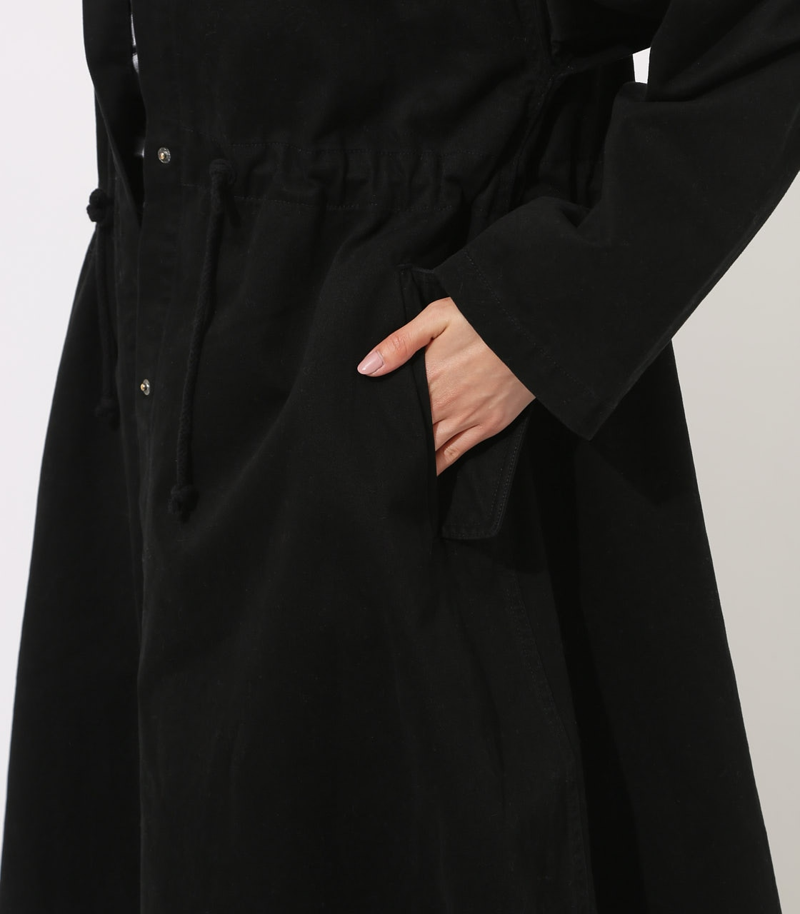 【AZUL BY MOUSSY】LOOSE MODS COAT 【MOOK49掲載 90044】 詳細画像 BLK 8