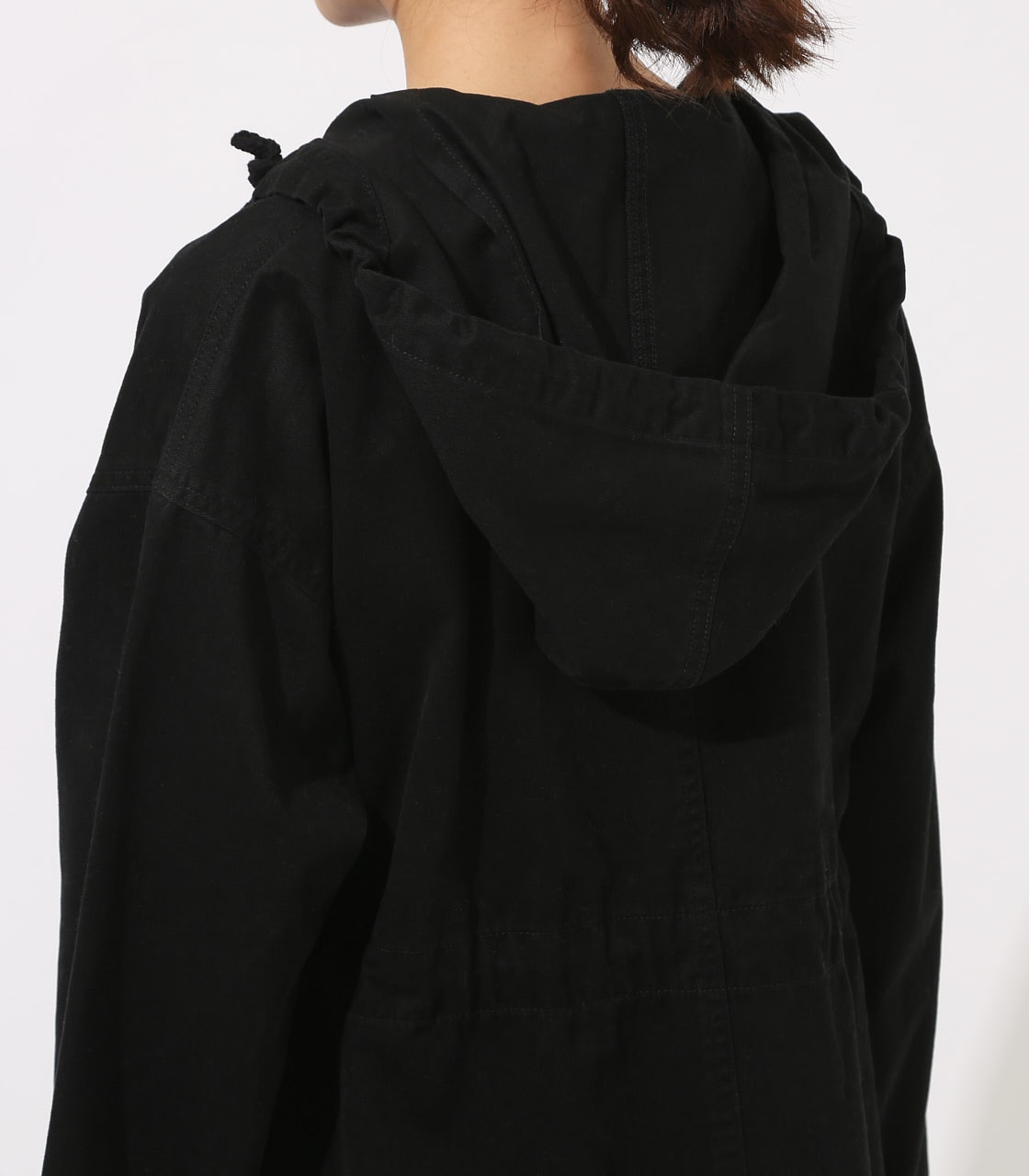 【AZUL BY MOUSSY】LOOSE MODS COAT 【MOOK49掲載 90044】 詳細画像 BLK 9