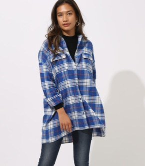 NELL CHECK OVER SHIRT