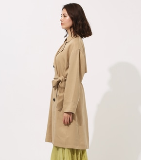 LYOCELL TRENCH COAT 【MOOK49掲載 90015】 詳細画像