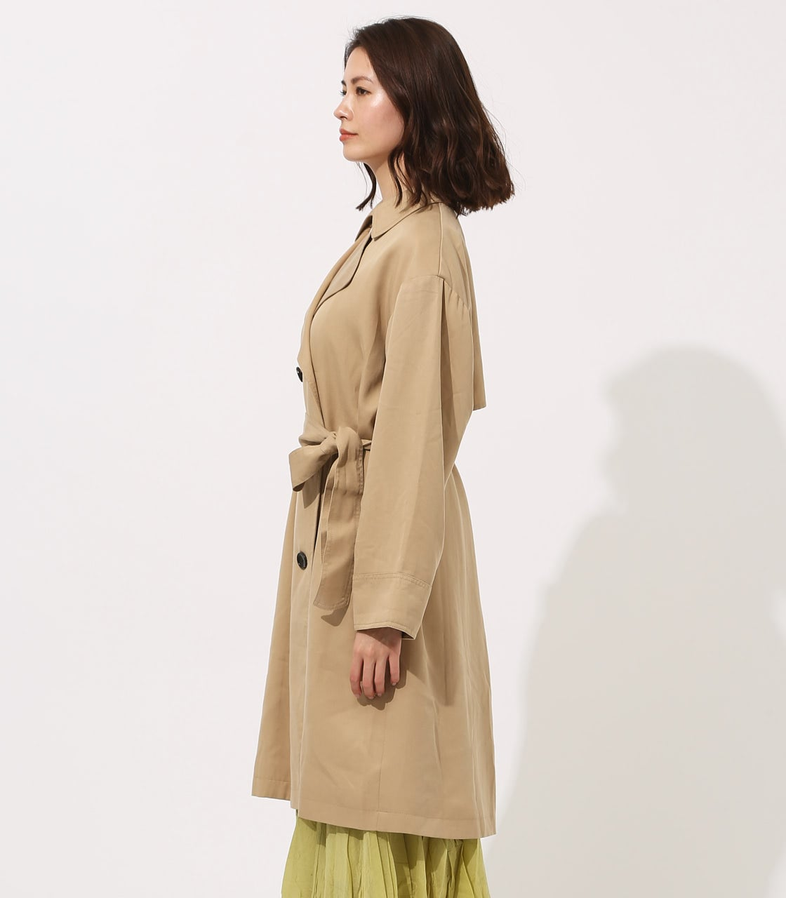 LYOCELL TRENCH COAT 【MOOK49掲載 90015】 詳細画像 BEG 6