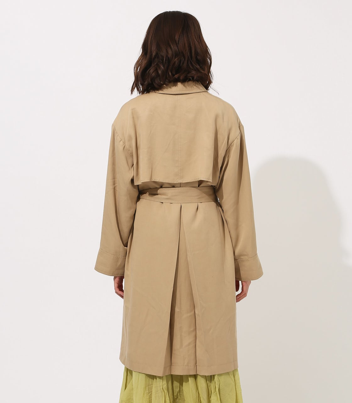 LYOCELL TRENCH COAT 【MOOK49掲載 90015】 詳細画像 BEG 7