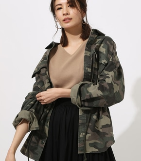 【AZUL BY MOUSSY】Military Blouson
