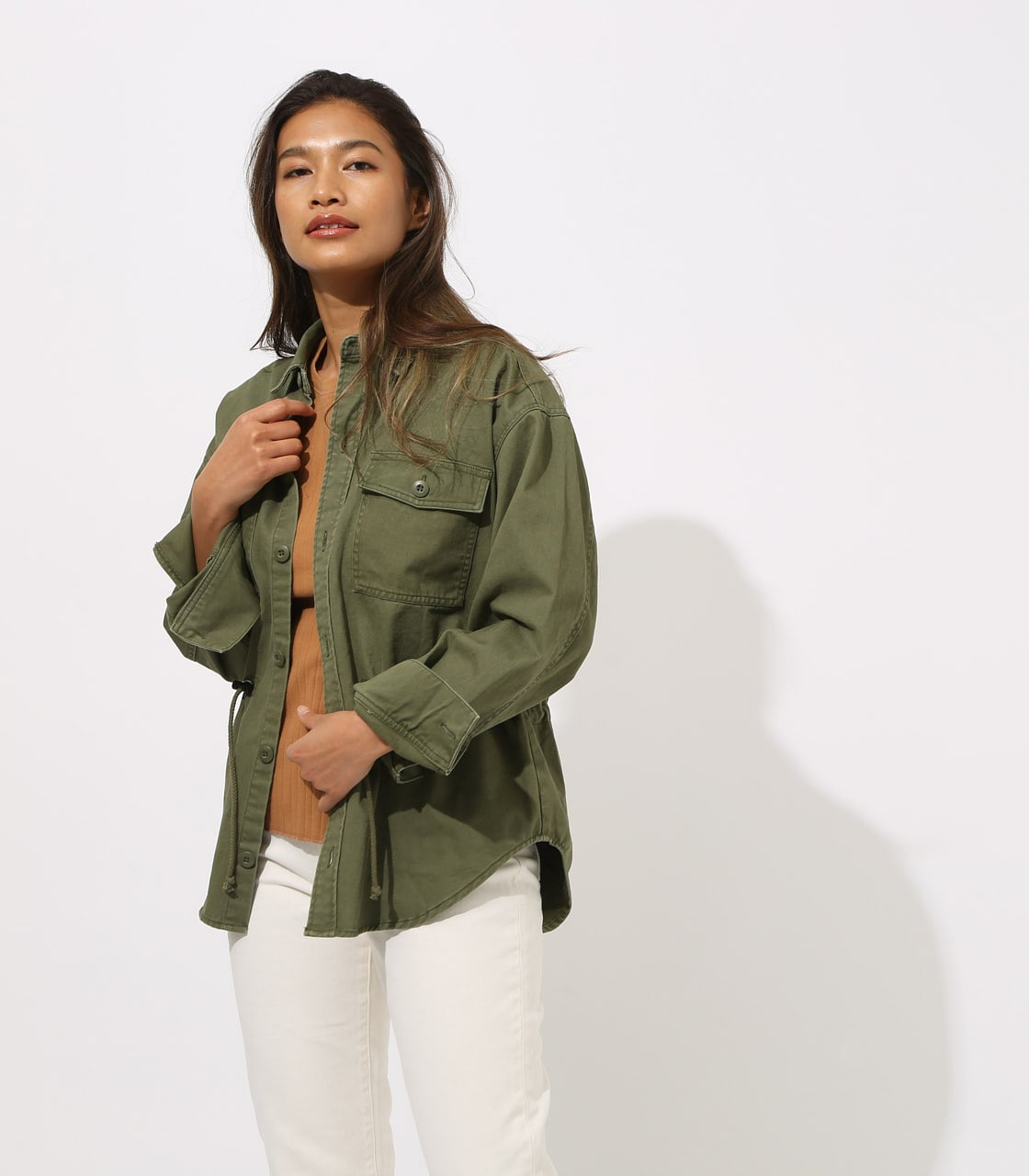 【AZUL BY MOUSSY】Military Blouson 詳細画像 L/KHA 2