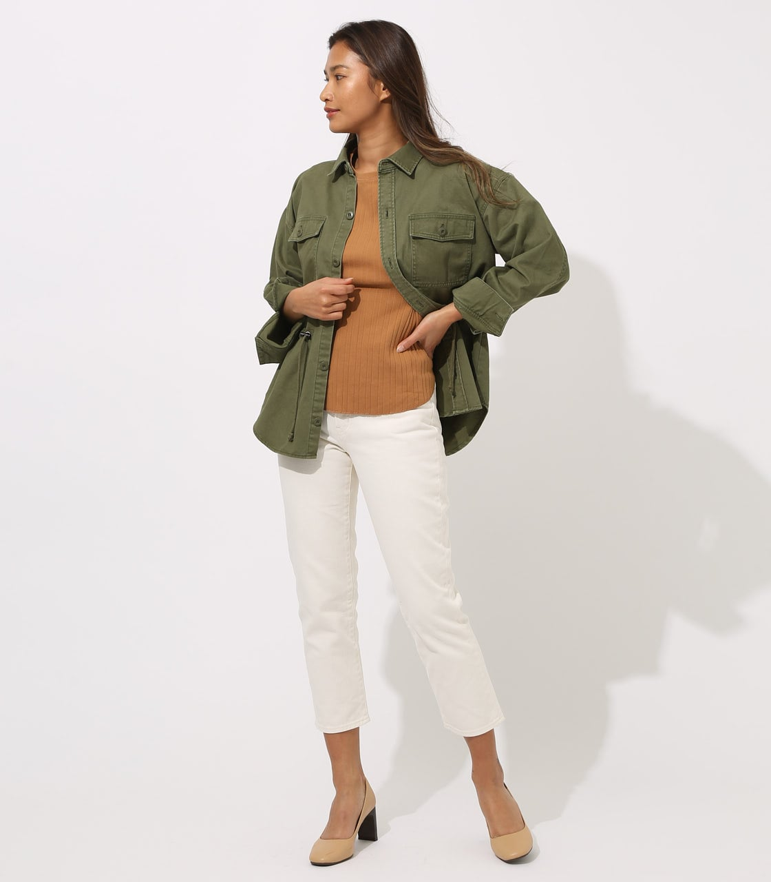 【AZUL BY MOUSSY】Military Blouson 詳細画像 L/KHA 4