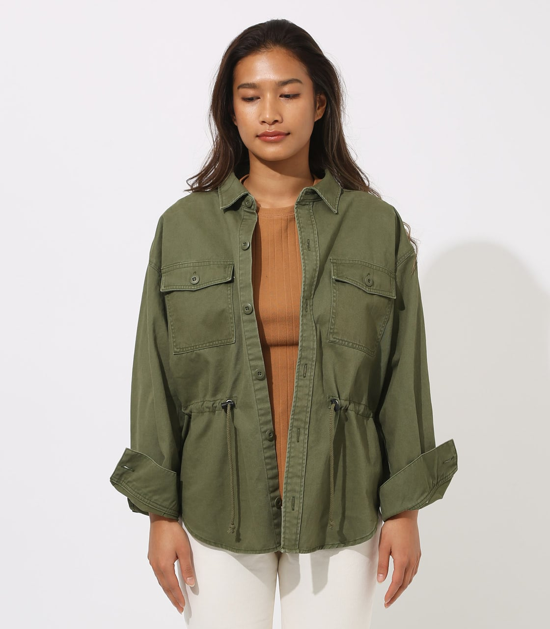 【AZUL BY MOUSSY】Military Blouson 詳細画像 L/KHA 5