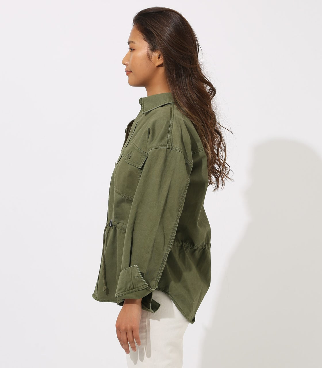 【AZUL BY MOUSSY】Military Blouson 詳細画像 L/KHA 6