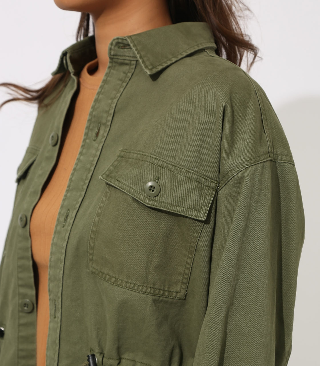 【AZUL BY MOUSSY】Military Blouson 詳細画像 L/KHA 8