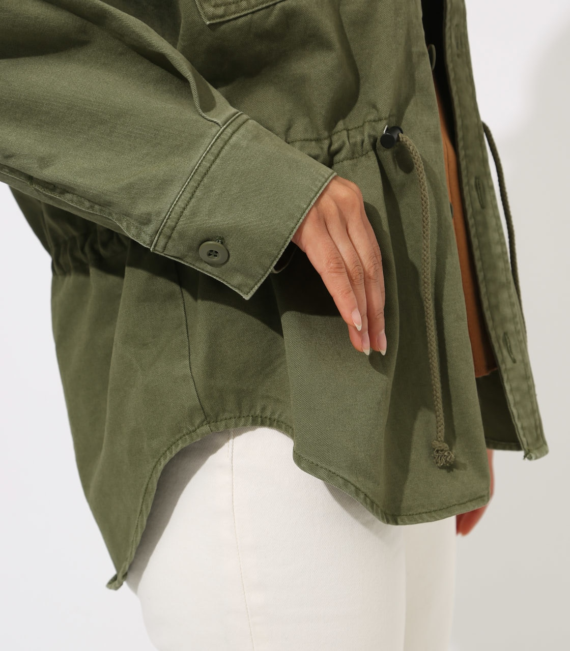 【AZUL BY MOUSSY】Military Blouson 詳細画像 L/KHA 9