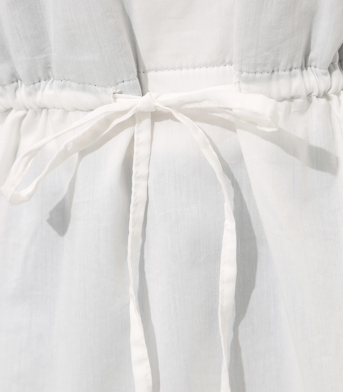 【AZUL BY MOUSSY】Waist shirring layered blouse 詳細画像 O/WHT 9