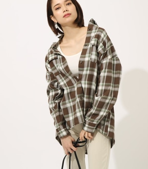 【AZUL BY MOUSSY】MADRAS CHECK SHIRT【MOOK50掲載 90135】