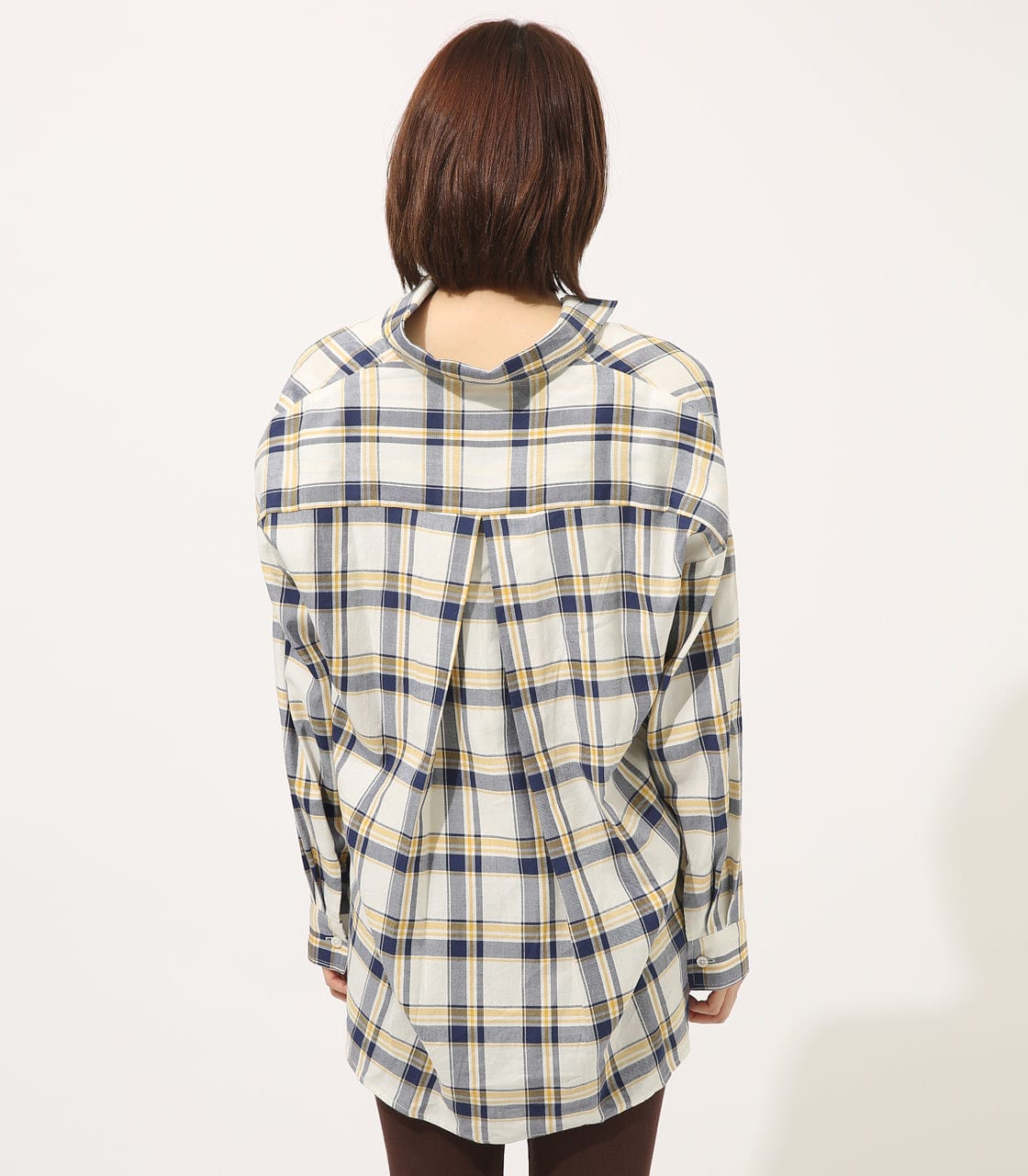 【AZUL BY MOUSSY】MADRAS CHECK SHIRT【MOOK50掲載 90135】 詳細画像 柄WHT 6