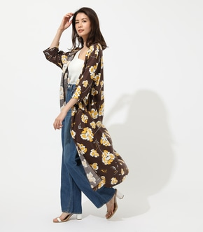 【AZUL BY MOUSSY】BIG FLOWER GOWN