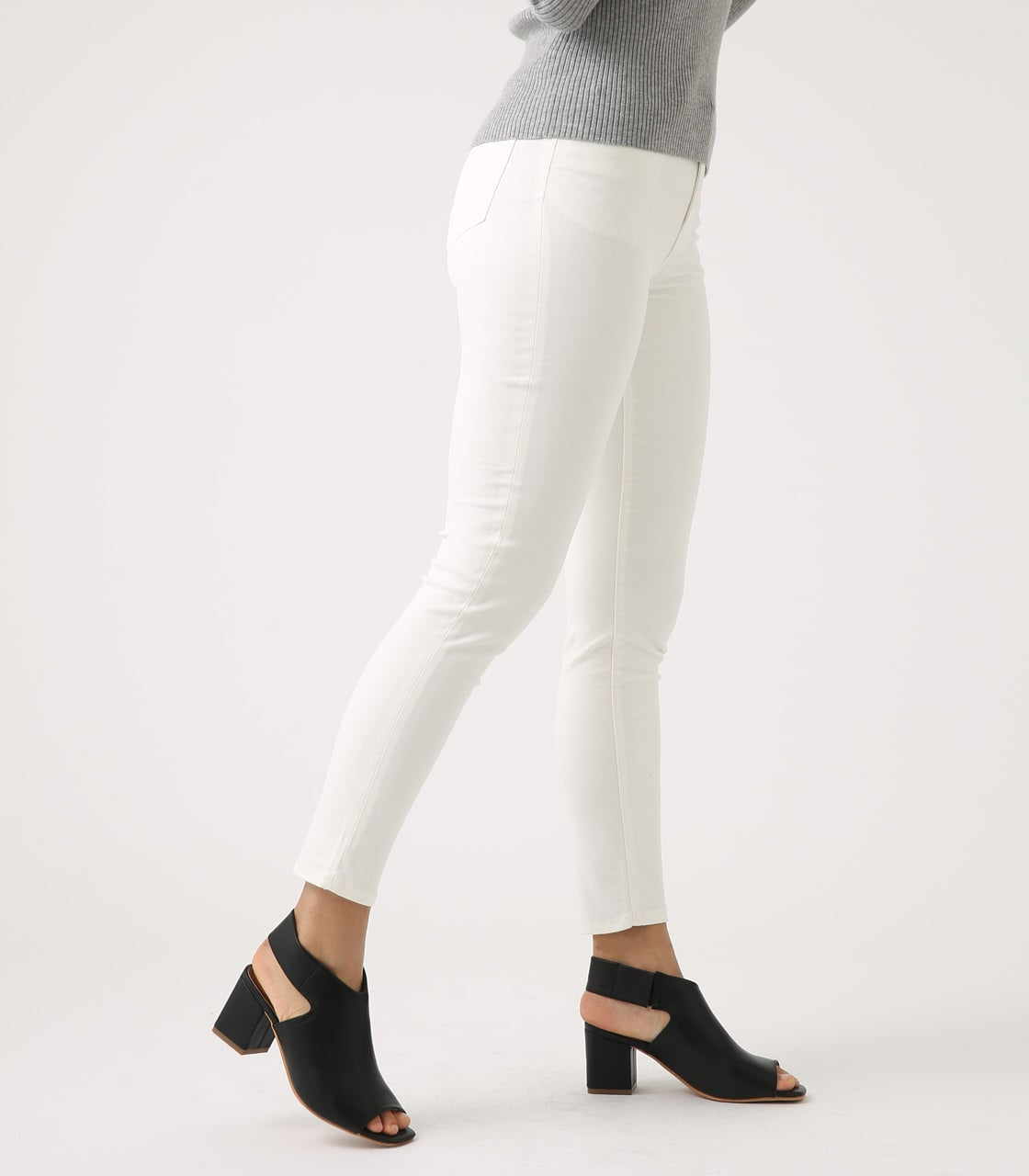 【AZUL BY MOUSSY】Color peach skinny 詳細画像 WHT 2