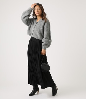 【AZUL BY MOUSSY】ベーシックプリーツスカート 詳細画像