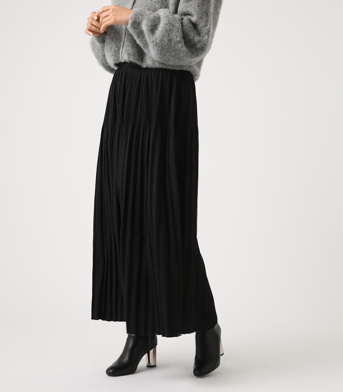 【AZUL BY MOUSSY】ベーシックプリーツスカート 詳細画像 BLK 1