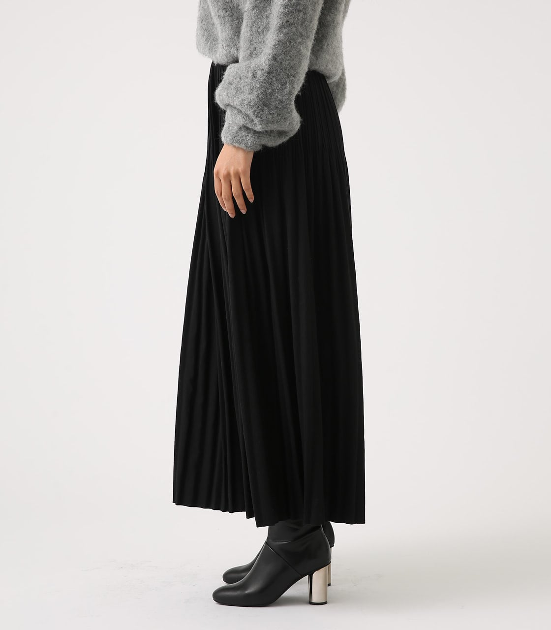 【AZUL BY MOUSSY】ベーシックプリーツスカート 詳細画像 BLK 6