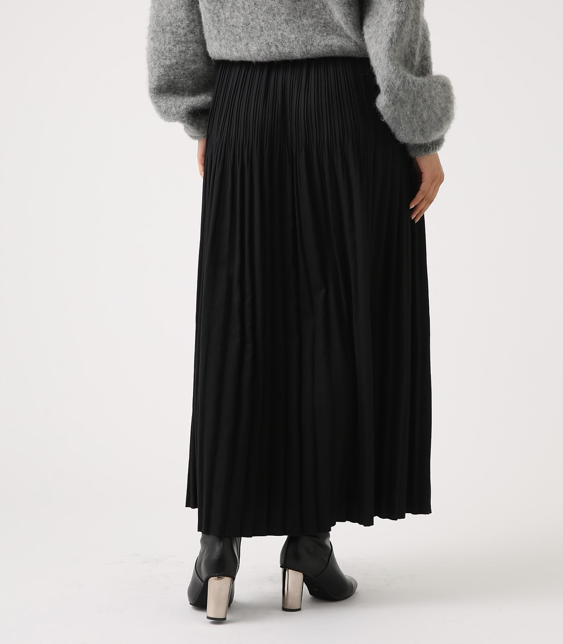 【AZUL BY MOUSSY】ベーシックプリーツスカート 詳細画像 BLK 7