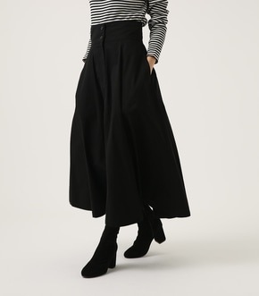 【AZUL BY MOUSSY】HIGH WAIST FLARE LONG SKIRT