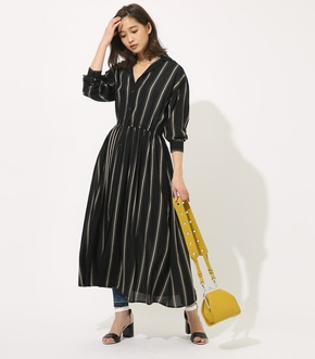 【AZUL BY MOUSSY】BROWSING MAXI ONEPIECE 【MOOK49掲載 90037】