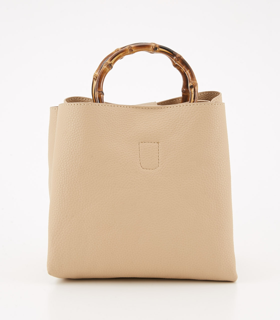 【AZUL BY MOUSSY】BAMBOO HANDLE BAG 詳細画像 L/BEG 1
