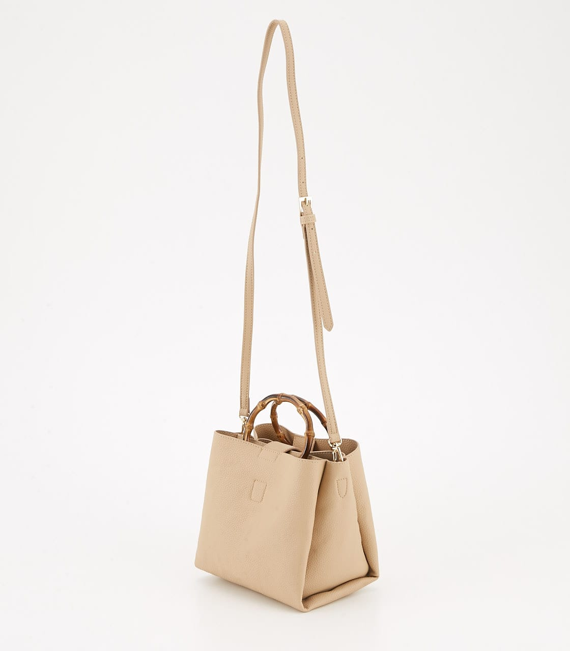 【AZUL BY MOUSSY】BAMBOO HANDLE BAG 詳細画像 L/BEG 2
