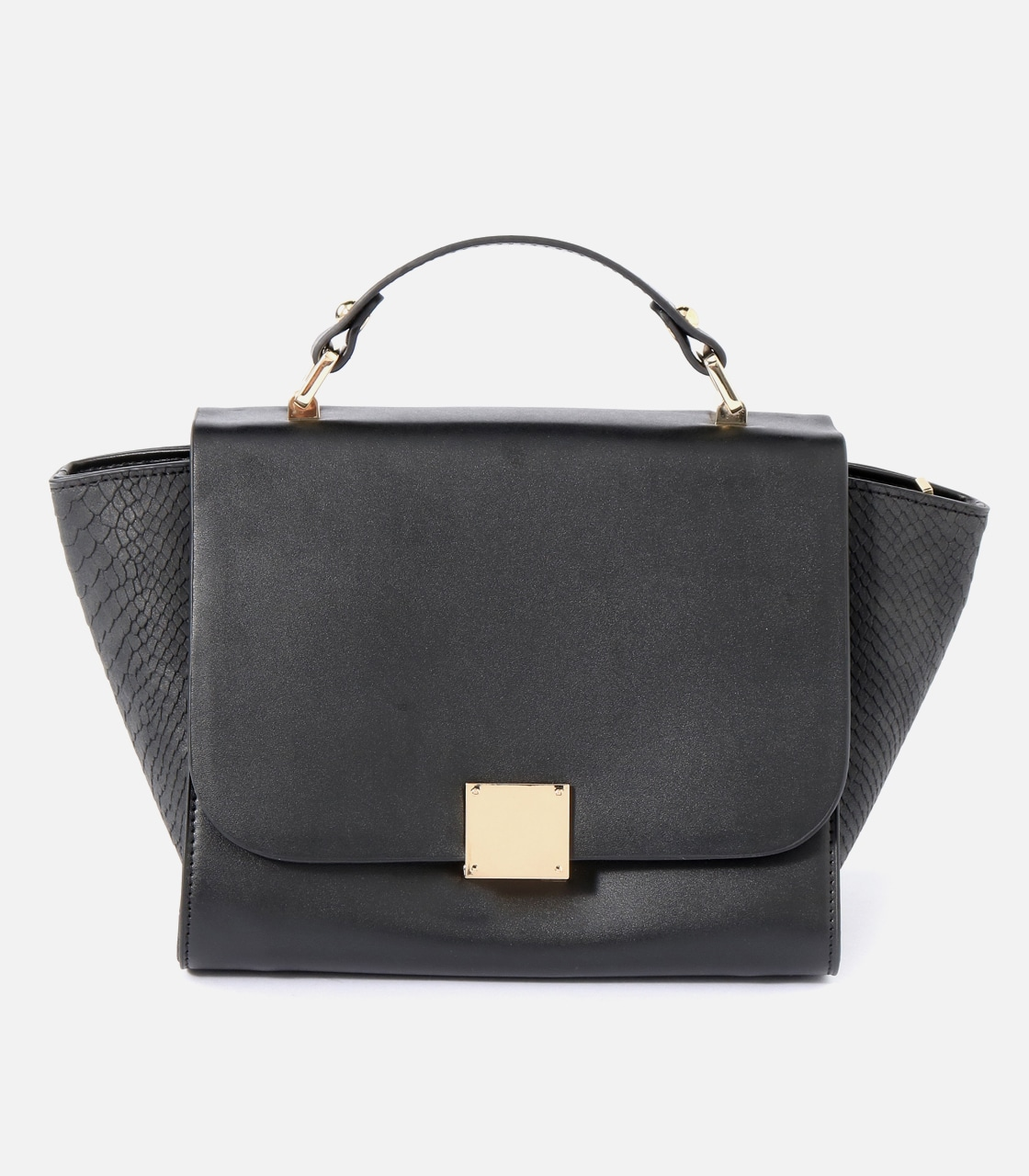 【AZUL BY MOUSSY】SQUARE METAL BAG 詳細画像 BLK 1