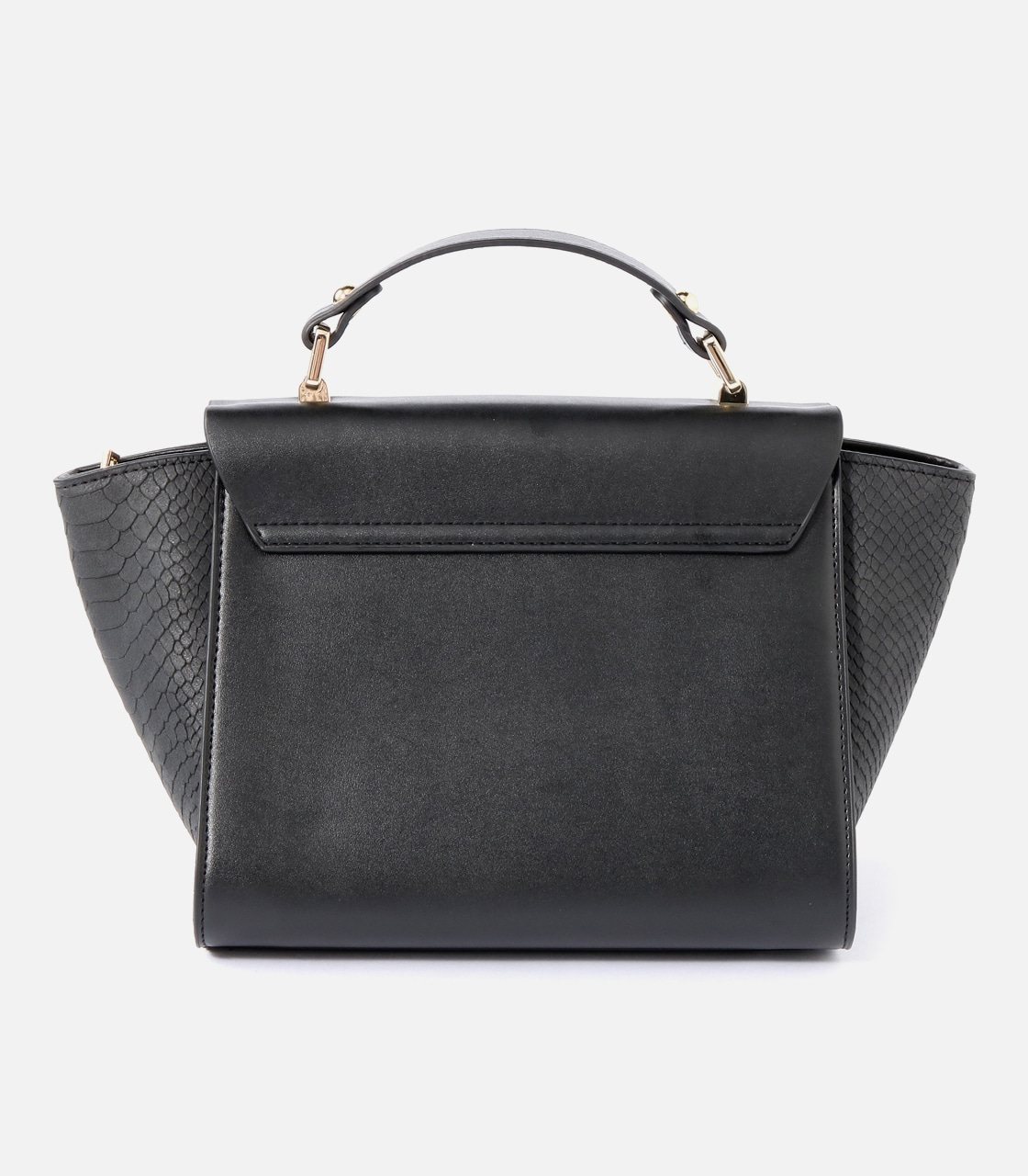 【AZUL BY MOUSSY】SQUARE METAL BAG 詳細画像 BLK 2