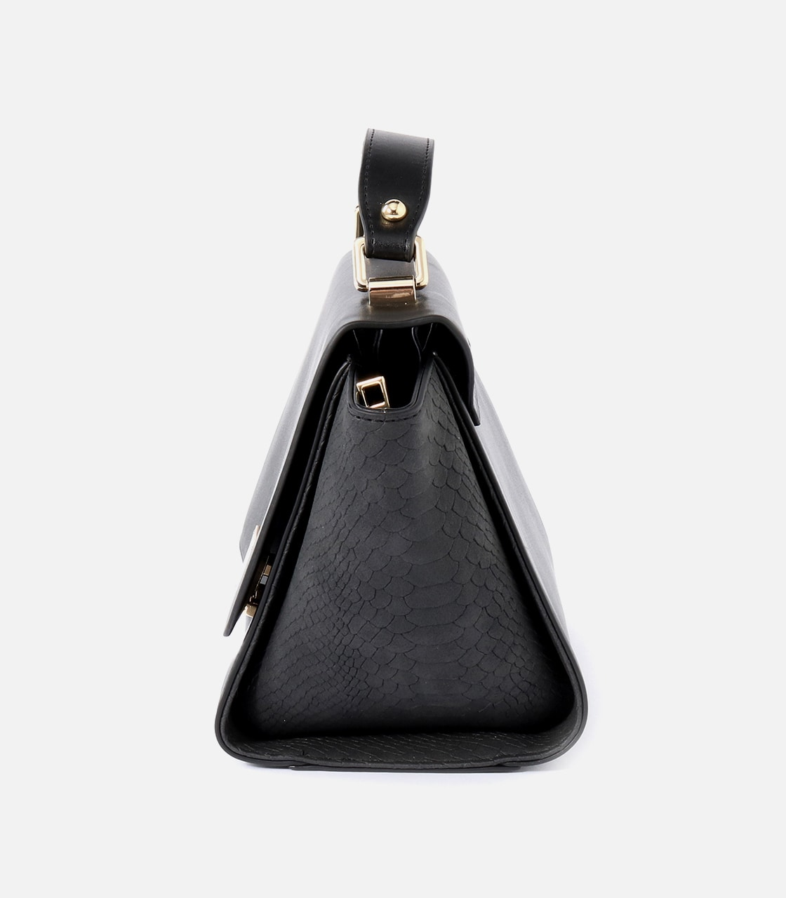 【AZUL BY MOUSSY】SQUARE METAL BAG 詳細画像 BLK 3