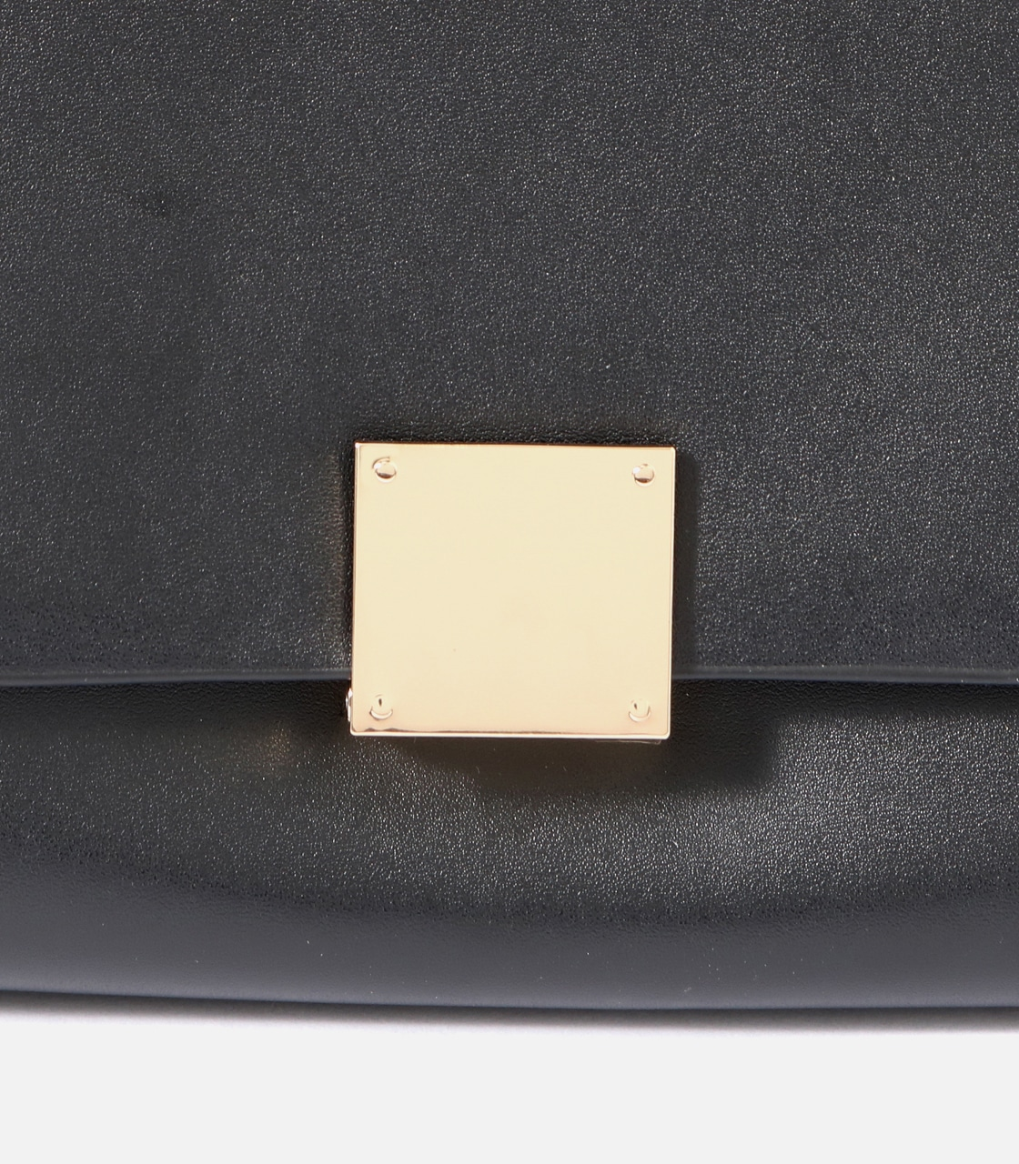 【AZUL BY MOUSSY】SQUARE METAL BAG 詳細画像 BLK 5