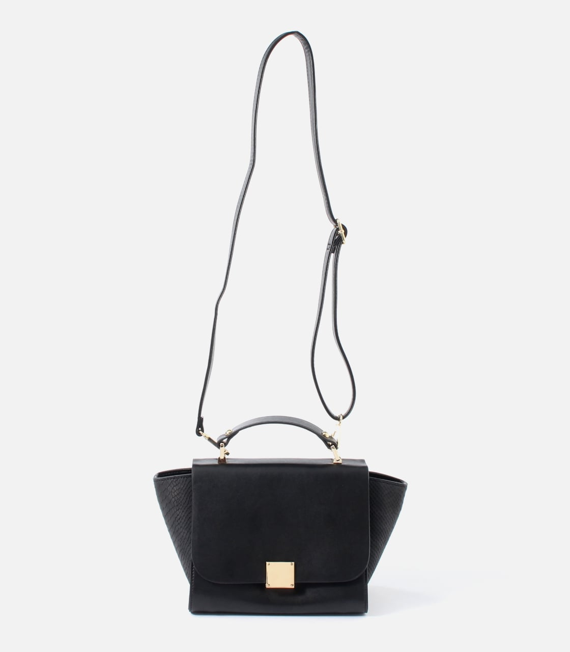 【AZUL BY MOUSSY】SQUARE METAL BAG 詳細画像 BLK 8