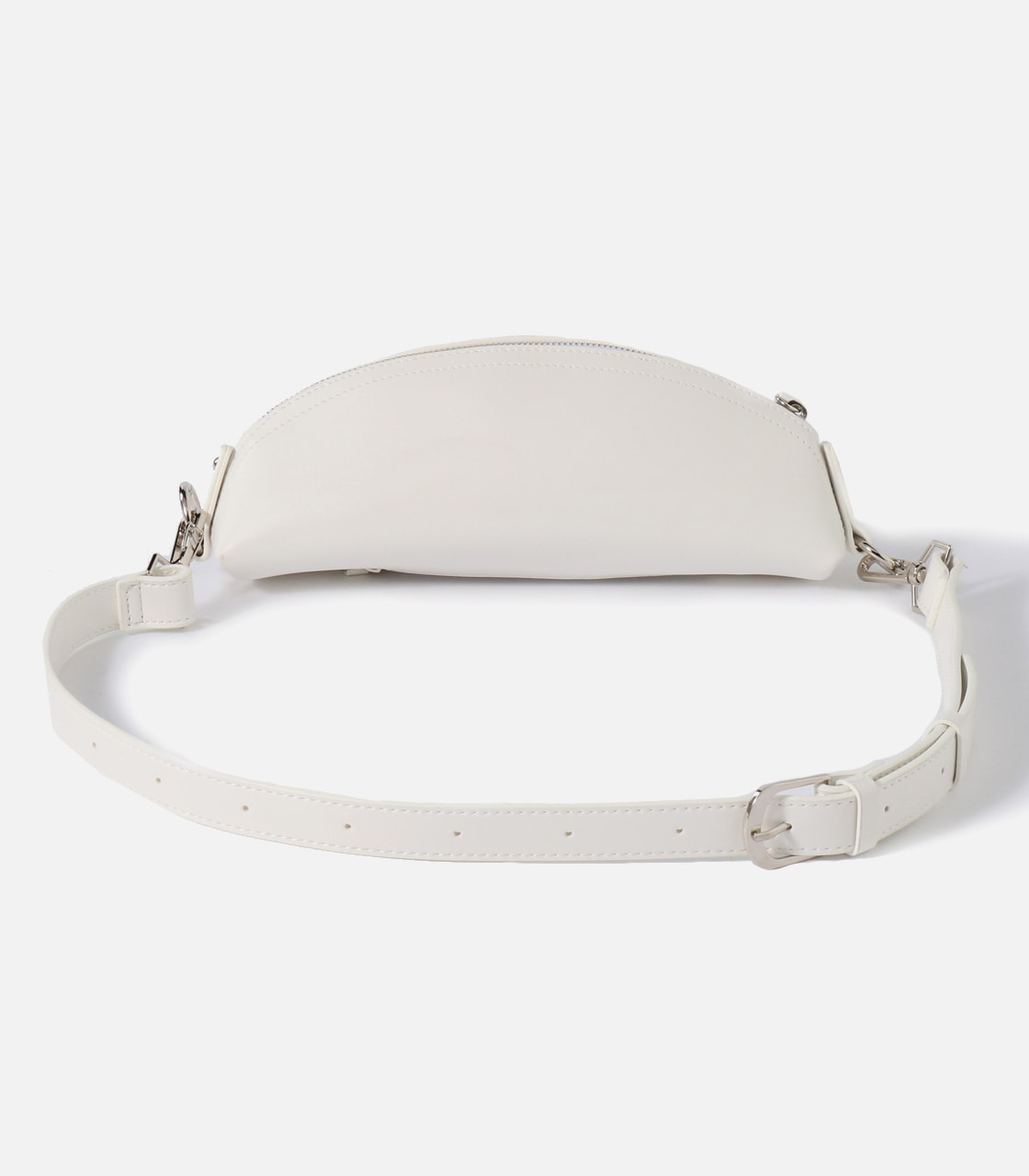 FAKE LEATHER WAISTBAG 詳細画像 O/WHT 2