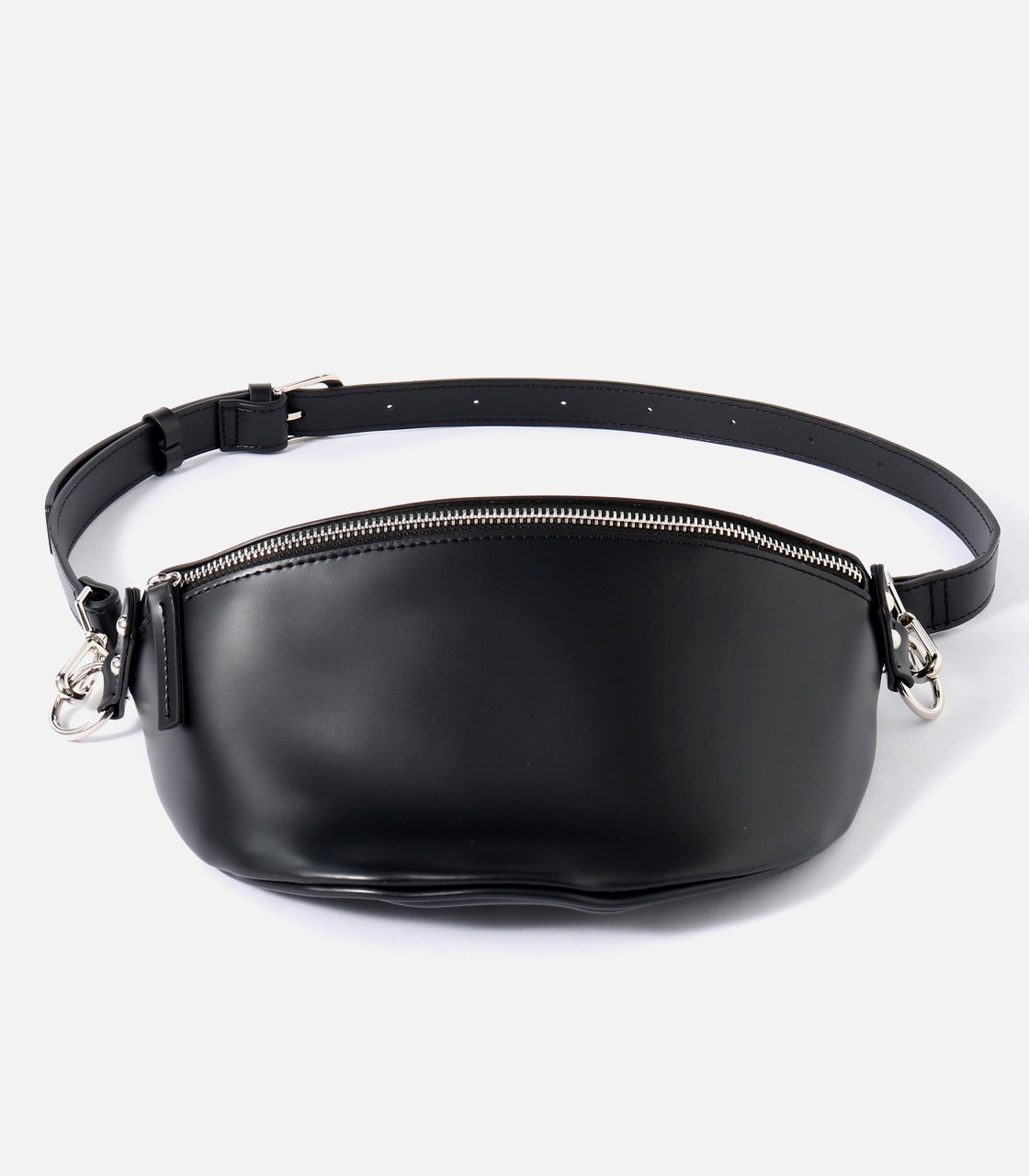 【AZUL BY MOUSSY】FAKE LEATHER WAISTBAG 詳細画像 BLK 1