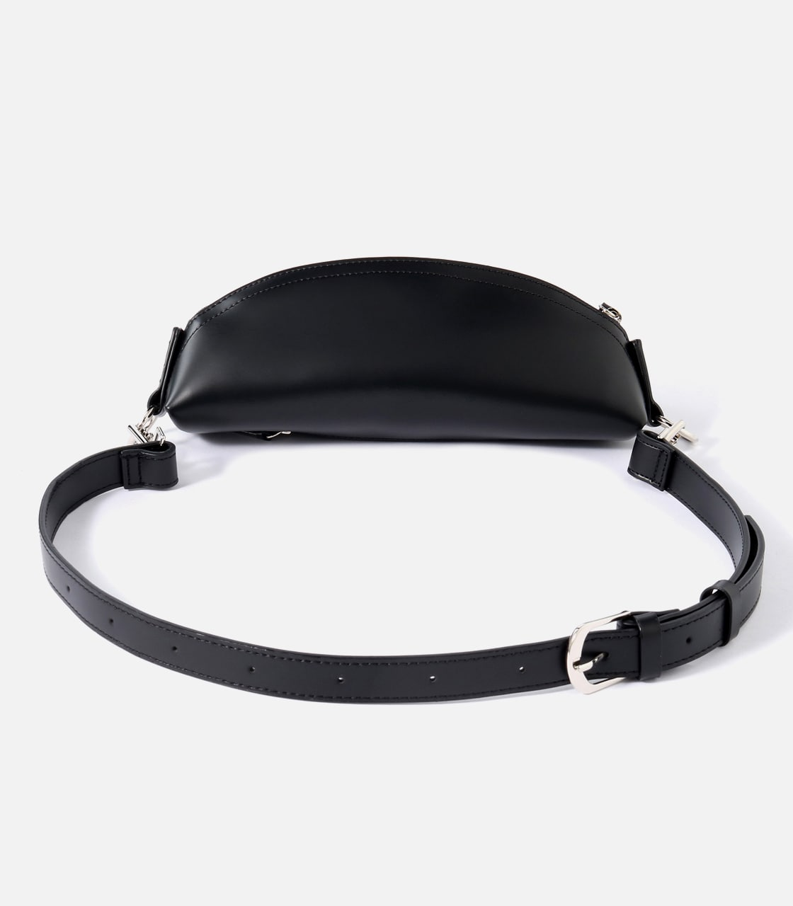 【AZUL BY MOUSSY】FAKE LEATHER WAISTBAG 詳細画像 BLK 2