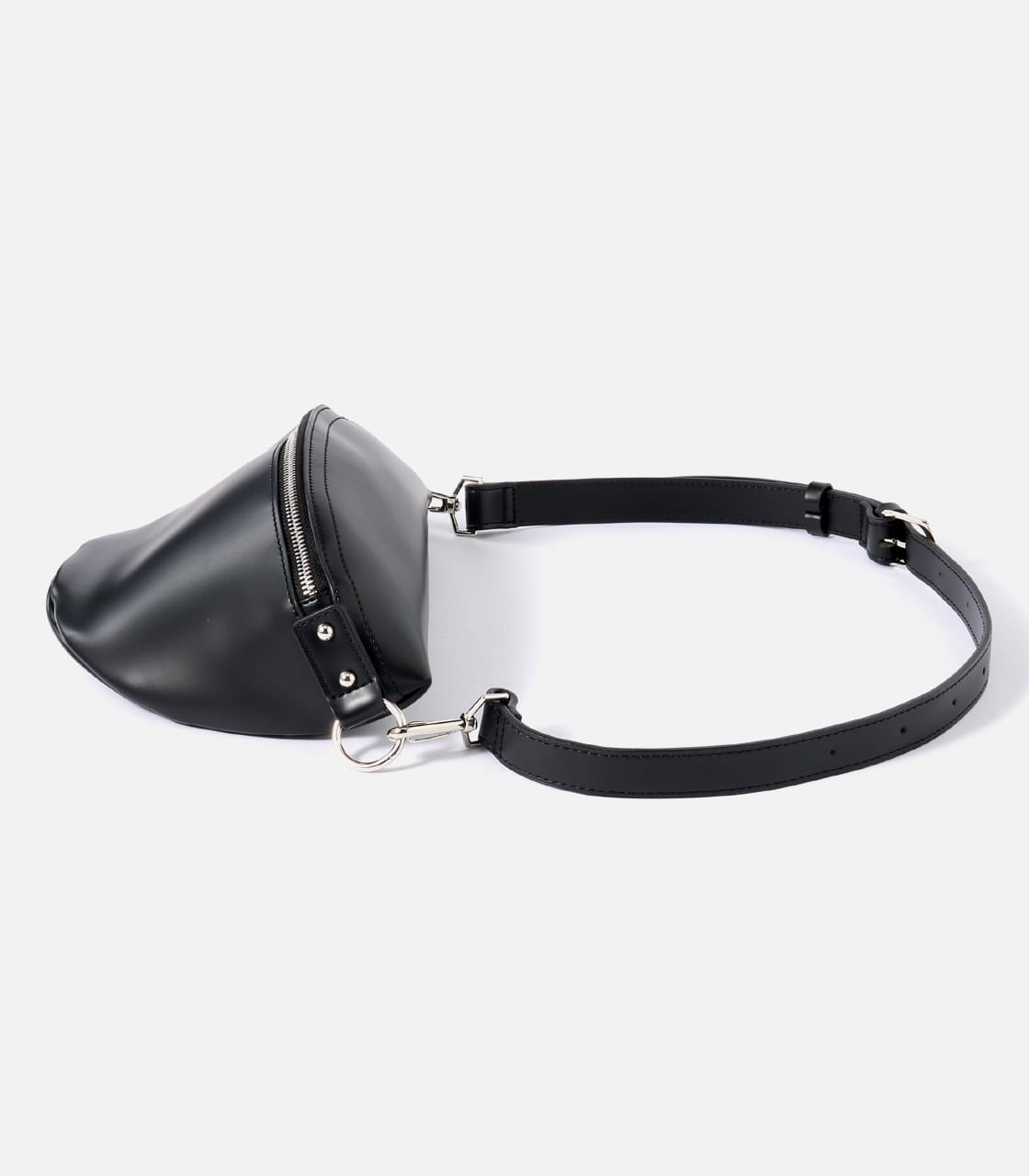 【AZUL BY MOUSSY】FAKE LEATHER WAISTBAG 詳細画像 BLK 3