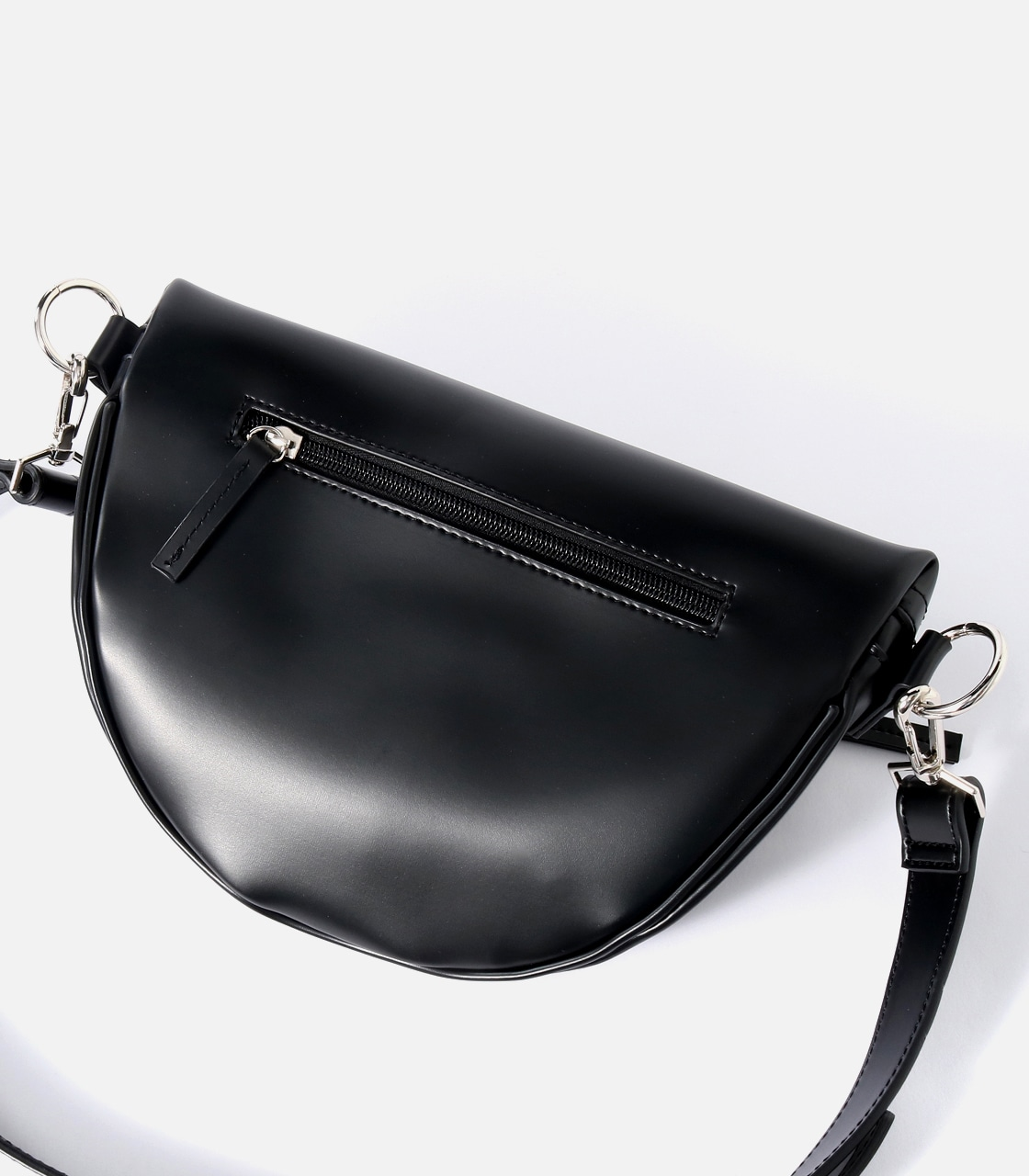 【AZUL BY MOUSSY】FAKE LEATHER WAISTBAG 詳細画像 BLK 6